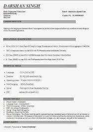 Educational Qualification In Resume Format The 25 Best Resume Format For Freshers Ideas On Pinterest