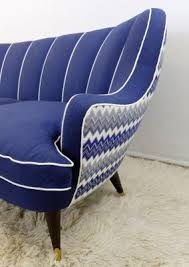 Blue Armchair For Sale Vintage Italian Royal Blue Sofa For Sale At Pamono