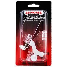 janome optic magnifier sew vac direct