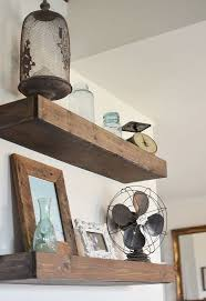 diy floating shelves hometalk