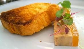 proportion cuisine foie gras itself is tasty but the proportion is