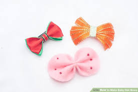 how to make baby hair bows 3 ways to make baby hair bows wikihow