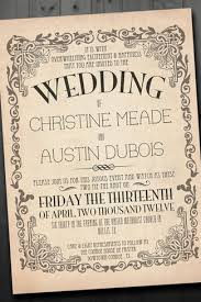 vintage wedding invitation antique wedding invitations 21 fabulous vintage wedding