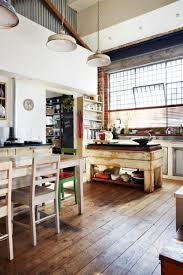 kitchen style modern industrial kitchen design metallic frame and