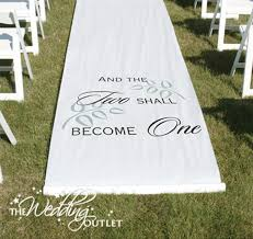 personalized aisle runner spice up your ceremony with a personalized aisle runner
