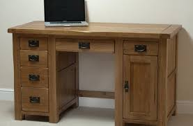 Solid Computer Desk Toulouse Solid Oak Computer Desk Sha034 Right Price Furniture With