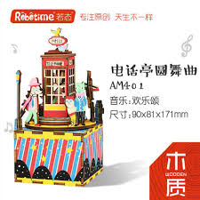 aliexpress com buy 3d wooden music box diy toys for children