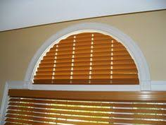 Wood Blinds For Arched Windows Moveable Arched Window Treatments For Half U0026 Quarter Circle