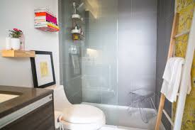ashley freeman design condo bathroom with umbra small bathroom