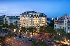 barcelona city view majestic hotel barcelona spain booking com