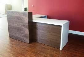 L Shaped Reception Desks L Shaped Reception Desk Home Design