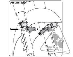 harley davidson auxiliary lighting kit denali auxiliary light mount for select harley davidson motorcycles