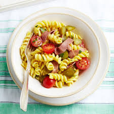 american dream pasta salad woman and home