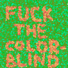 Colors That Color Blind Can See Red Green Colour Blindness Archive Secular Café