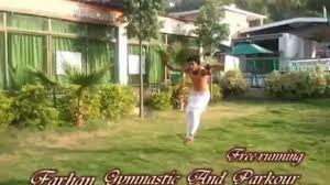 farhan gymnastics and parkour free running video dailymotion