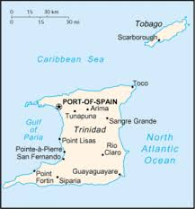 where is and tobago located on the world map and tobago