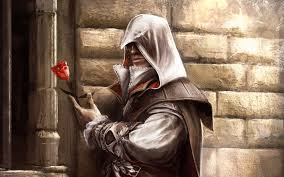 assassins creed ii wallpapers assassin u0027s creed 2 ezio artwork roses auditore the jester u0027s corner