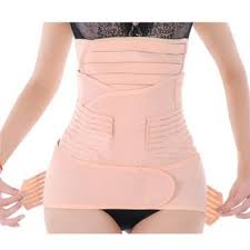 post pregnancy belly wrap generic women 3 in 1 postpartum girdle abdominal binder with