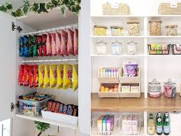 how to organize kitchen cabinets with food photos show inside beautifully organized pantries and