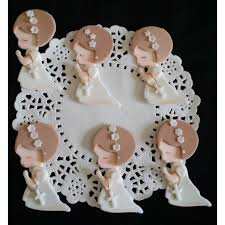 rosary favors for baptism baptism favors baptism cupcake topper communion child with