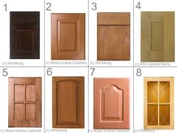 the type and style of kitchen cabinet doors
