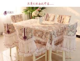 Dining Table Chair Covers Online Shop Quality Dining Table Cloth Chair Cover Lace Printed