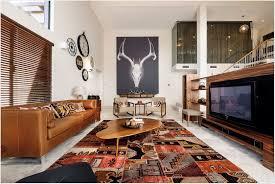 interior design singular living area wall andalse ceiling color