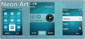 themes for nokia c2 touch and type neon art theme for nokia asha 303 300 x3 02 c2 02 touch type