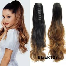 ponytail hair extensions wholesale claw clip ponytail hair extensions 22 claw clip ponytail