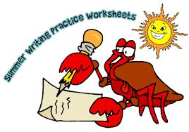 printable summer writing practice worksheets woo jr kids