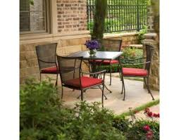 5 Pc Patio Dining Set Best Outdoor Dining Furniture Collection See To Believe