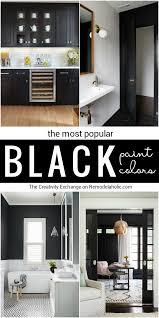 most popular black paint colors remodelaholic bloglovin u0027