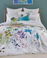bluebellgray botanical garden duvet cover sets bedding