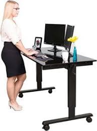 höhenverstellbarer stehschreibtisch stand up desk store im test