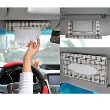 porte box auto tissue box cover car sun visor tissue box auto accessoires porte