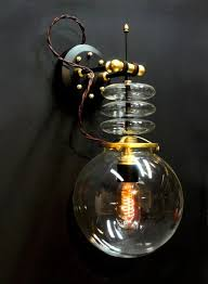 Custom Lighting Tesla Wall Lamp Art Donovan Extraordinary Custom Lighting Design