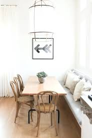 Dining Room Sets With Bench Es Dining Room Table With Corner Bench Seating Built In White