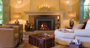 fireplace cozy berber carpet with beige leather armchair and