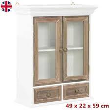 vintage kitchen wall cabinet white vintage kitchen wall cabinet bathroom storage display unit