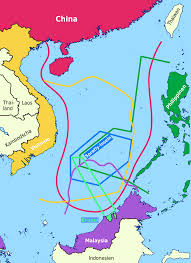 China Sea Map by File South China Sea Claims 2 Png Wikimedia Commons