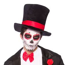 day of the dead top hat fancy dress costume mexican halloween dia