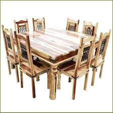 rustic square dining table rustic dining set for 8 8 chair dining table sets rustic square