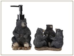Bear Bathroom Accessories by Bella Lux Bathroom Accessories
