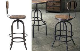 industrial metal bar stools with backs bar stools industrial with backs metal ikea in plan 19