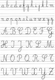 french script l shade perfect french handwriting i wish i could write like this tid
