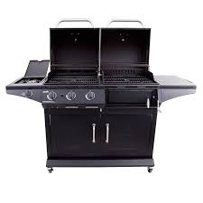 backyard grill gas charcoal combination grill deluxe gas u0026 charcoal combo grill