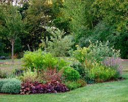 garden design with flower bed ideas landscape from landscap