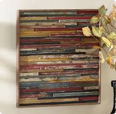 square wood wall decor wall designs plank wall layered color panel square home