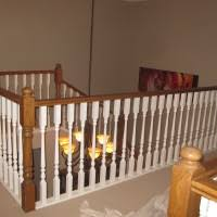 Staircase Spindles Ideas Cute Image Of Home Interior Stair Design Using White Wood