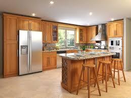 Refinish Oak Kitchen Cabinets by Refinishing Oak Kitchen Cabinets Hometutu Com